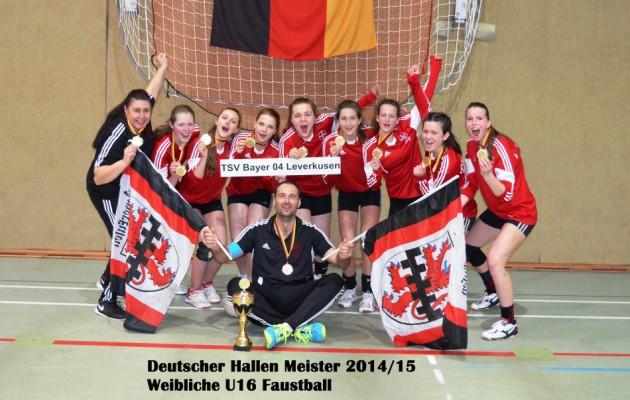 Bayer Leverkusen gewinnt DM der weiblichen U16