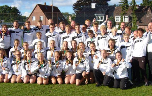 2 Titel bei der weiblichen U14 & U18 reichen leider nicht für Bronze in der Gesamtwertung