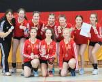 Deutsche Hallenfaustball-Meisterschaft der weiblichen U16 beim TSV Bayer 04