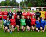 Kaderlehrgang der weiblichen U16 und U18 in Leverkusen am 10.06./01.07.2016