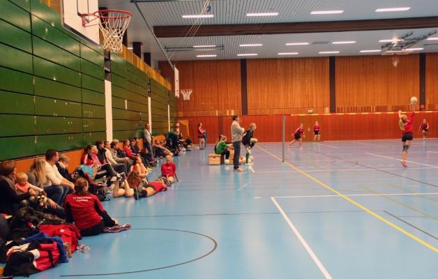 Faustballerinnen starten mit Sieg und Niederlage in die Verbandsliga