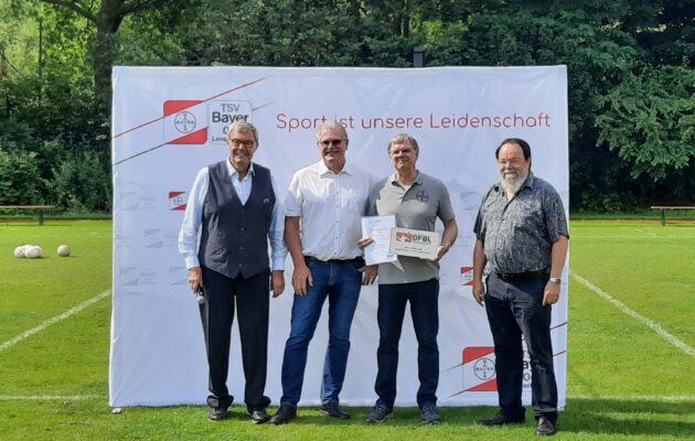 Nationaler Faustball-Stützpunkt Leverkusen