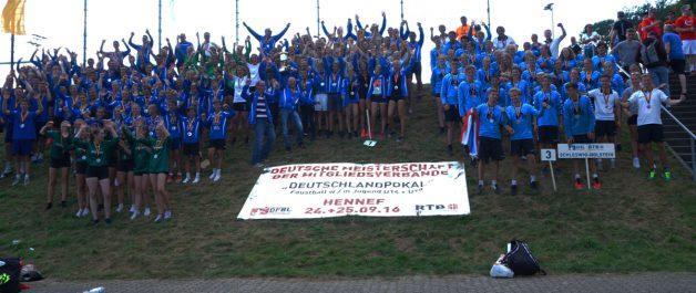 Endstand der Deutschen Meisterschaft der Mitgliedsverbände 2016