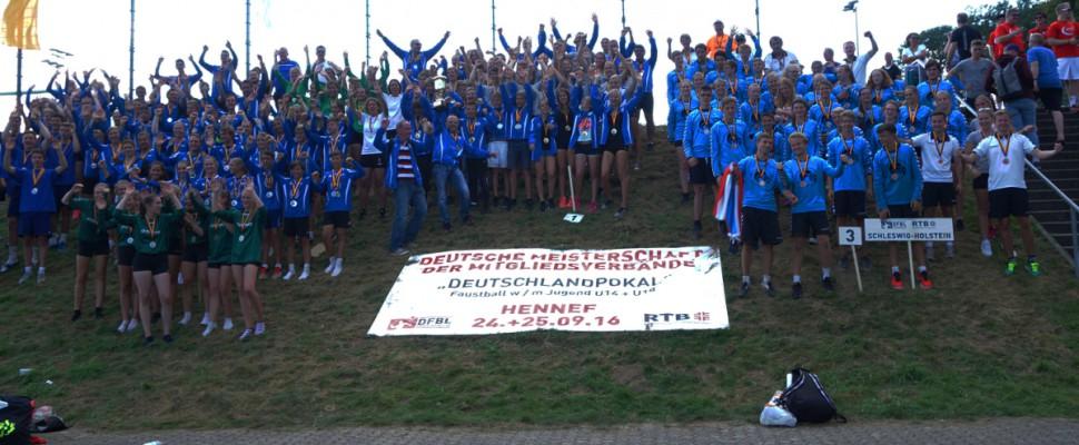 Deutsche Meisterschaft der Mitgliedsverbände 2016 Siegerehrung