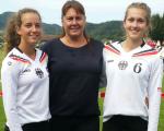 Maya Mehle und Katrin Hagen erfolgreich bei U18 EM in der Schweiz